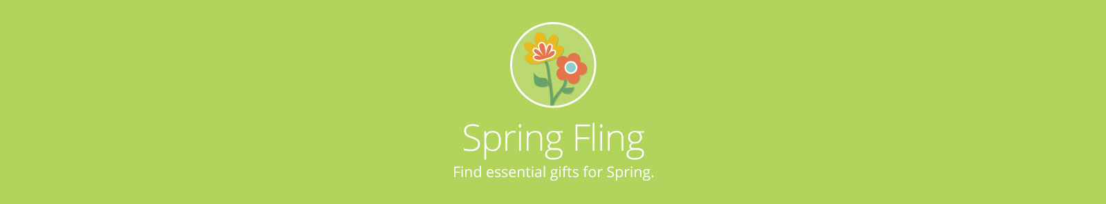 Spring Gifts Banner